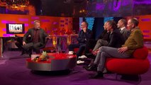 Graham Recreates Iconic Trainspotting Poster - The Graham Norton Show