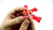 Play-Doh arrow surprises [Peppa Pig, Tsum Tsum, Shopkins, Lalaloopsy, Disney Cinderella]