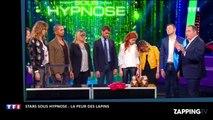 Stars sous hypnose - Messmer : les invités effrayés par un chausson en forme de lapin (vidéo)