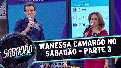 Wanessa Camargo no Sabadão - Parte 3