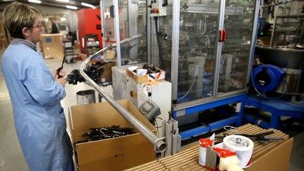 Visite d'une usine de cintres en Thiérache
