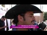 Paulina Rubio e hijo apoyan a su novio en Los Ángeles