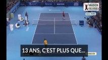 La rivalité de Federer et Nadal dure depuis 13 ans c'est plus que Merkel, Plus belle la vie et bien d'autres