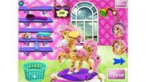 NEW Игры для детей—Disney Принцесса Бэль и ее маленький пони—Мультик Онлайн видео игры для девочек