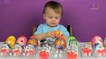 BABY DITZY SURPRISE EGG PARTY Kinder Peppa Pig Star Wars TMNT Huevos sorpresa gigante by DTSE