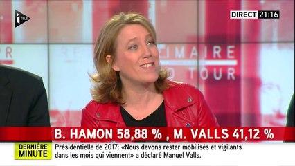 Danielle Simonnet - Réaction au 2e tour de la primaire PS - I-Télé - 29/01/2017