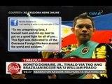 24 Oras: Nonito Donaire, Jr., tinalo via TKO ang Brazilian boxer na si William Prado