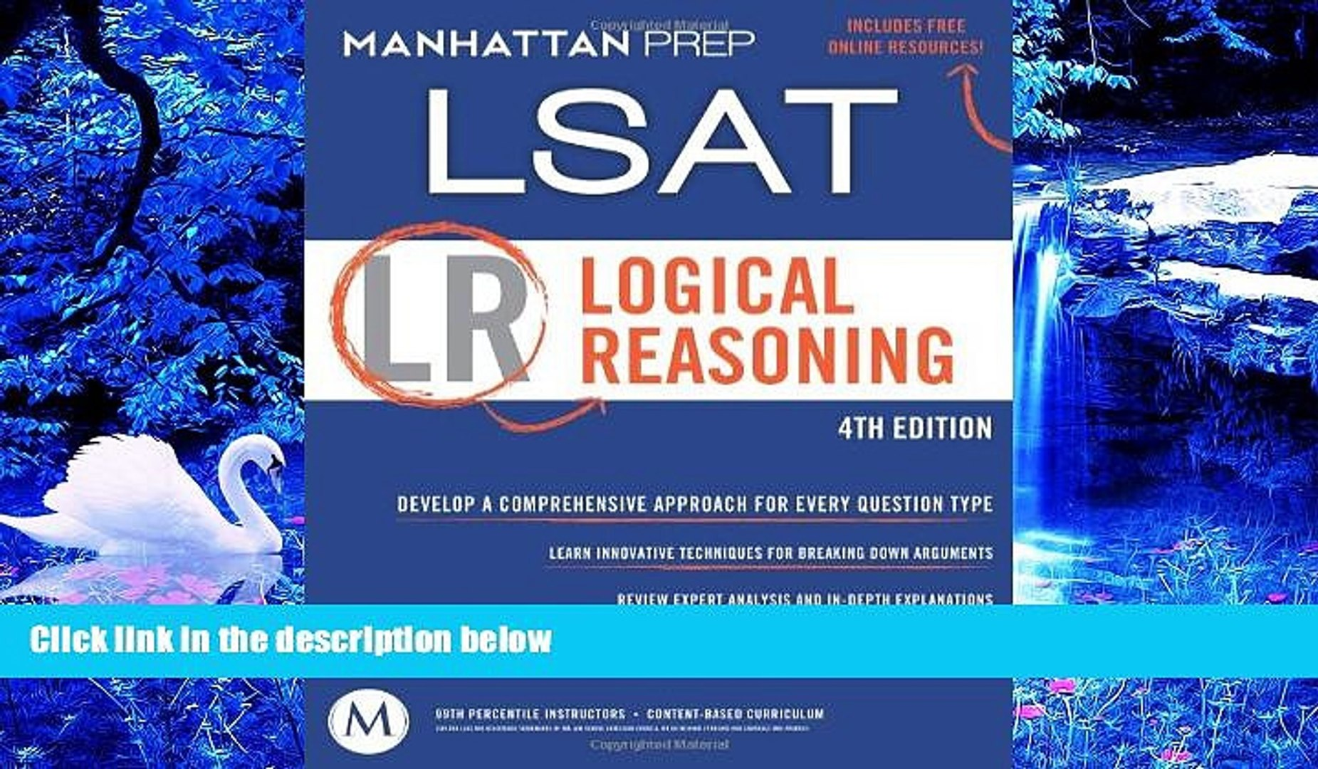 DOWNLOAD [PDF] Logical Reasoning: LSAT Strategy Guide, 4th Edition  Manhattan Prep For Ipad