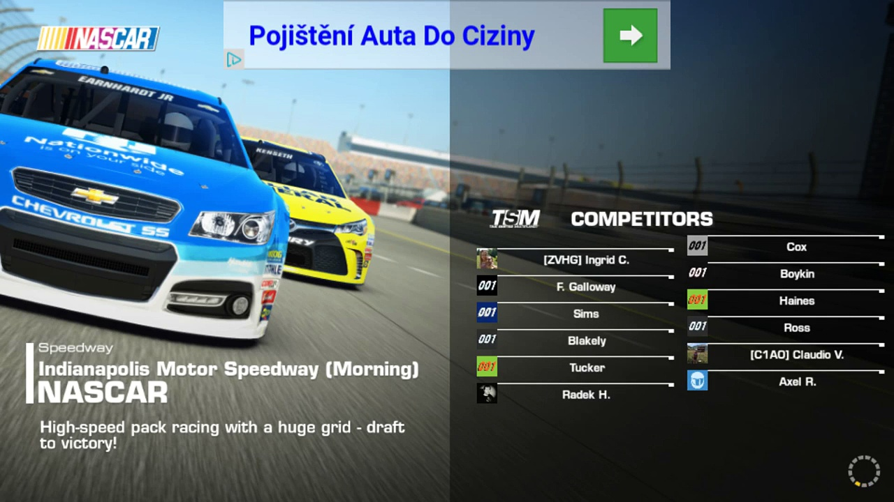 Real Racing 3 NASCAR Ford Fusion Nascar – Android game