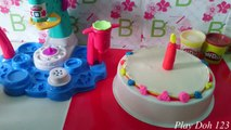 Play Doh Cake and Ice Cream Shop - Play Doh Ice Cream Birthday Cake