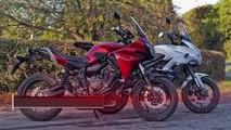 Kawasaki Versys 650 vs Yamaha Tracer 700 Review Visordown Motorcycle Road Test