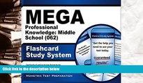 Audiobook  MEGA Professional Knowledge: Middle School (062) Flashcard Study System: MEGA Test