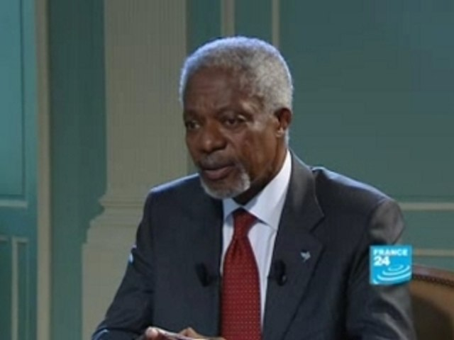 FRANCE24-EN-Talk de Paris- Kofi Annan-Extract 1