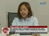 Rep. Abigail Binay, paiimbestigahan ni trillanes kaugnay ng umano'y kwestyonableng paggamit ng PDAF