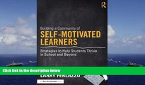 PDF  Building a Community of Self-Motivated Learners: Strategies to Help Students Thrive in School