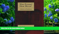 READ book Why Punish? How Much?: A Reader on Punishment  For Kindle