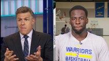 Draymond Green dit que LeBron raconte des conneries quand il nie la rivalité Cavs/Warriors