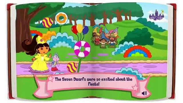 Dora Fairytale Fiesta Games-Dora The Explorer