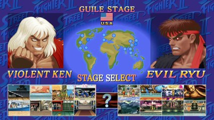 Evil Ryu vs Violent Ken  de Ultra Street Fighter II: The Final Challengers