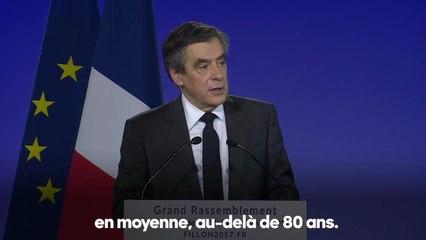 Assurer une retraite digne à nos anciens | François Fillon à La Villette