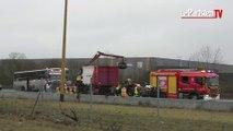 Carambolage sur l'A13 dans les Yvelines : de nombreux blessés