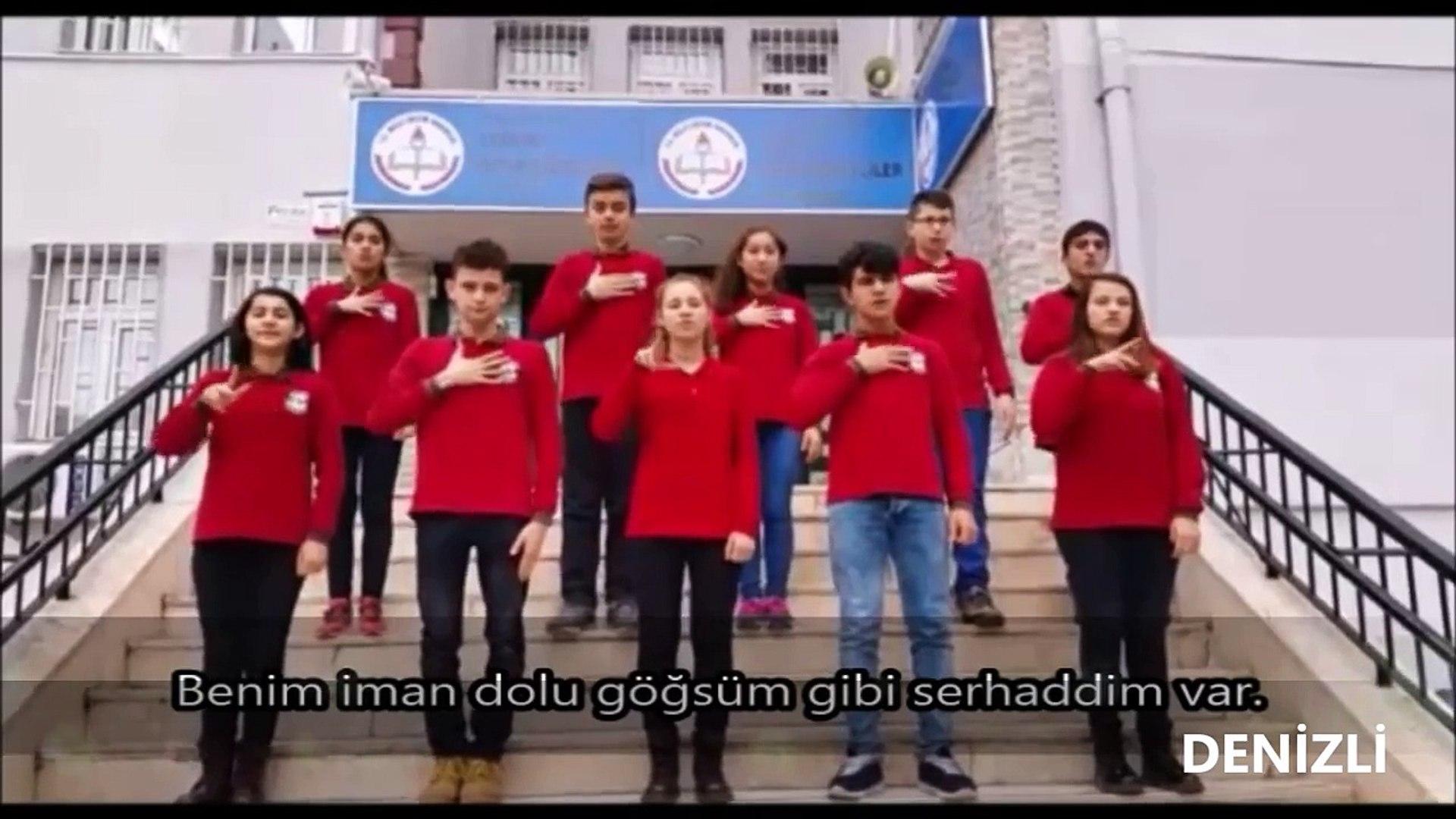 İSTİKLÂL MARŞI-41 İLDEN 41 FARKLI SES-10 KITA TAMAMI