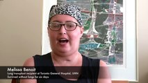Une Canadienne survit six jours sans poumons avant de recevoir une greffe