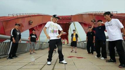 Poppin Outside - at the taiwan bridge, '北淃觀光大橋'  [Poppin Hyunjoon 팝핀현준]