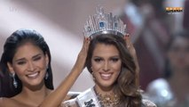 Iris Mittenaere (Miss France 2016) sacrée Miss Univers - ZAPPING PEOPLE DU 30/01/2017
