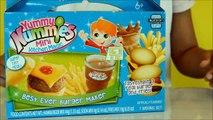 Yummy Nummies | Mini Kitchen Magic | Best Ever Burger Maker | kids play & Review