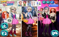 Elsa Round the Clock Fashionista - Frozen Queen Elsa Dress Up Game For Girls