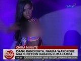Isa sa 29 na kandidata sa Miss Bikini Philippines 2015, nagka-wardrobe malfunction