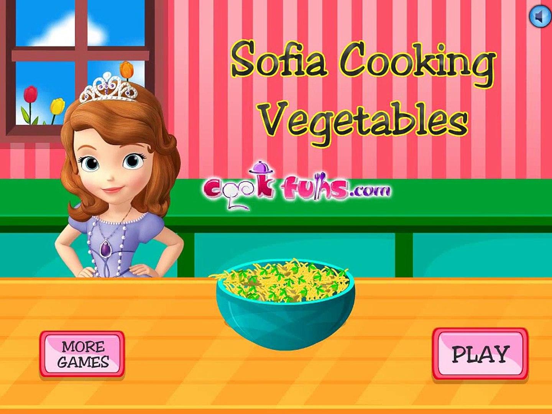 Игра для девочек! София вкусно готовит! Детская игра!
