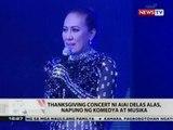 BT: Thanksgiving concert ni Aiai Delas Alas, napuno ng komedya at musika