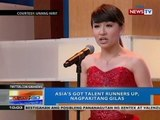 NTG: Asia's Got Talent runner up, nagpakitang gilas