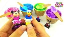 Play-Doh Ice Cream Cone Surprise Eggs | Cupcakes Mega Compilation | Playdoh Ice Cream Cones with Toy