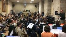Musique des Transmissions et l'orchestre René Guizien à l'Unisson