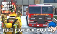 GTA 5 Play As A Firefighter Mod  #1 Strip Clubs On Fire!