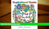 Audiobook  Inspirational Quotes: An Adult Coloring Book with Motivational Sayings, Positive