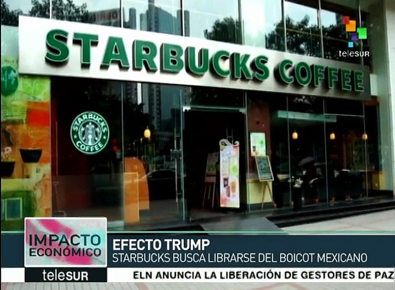 Starbucks intenta sortear el boicot mexicano contra marcas de EE.UU.