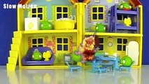 PEPPA PIG and The Angry Birds BATTLE The Bad Piggies! - AWESOME!