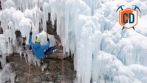 Overhanging Ice At The Ecrins Ice Festival  | Climbing Daily...