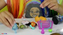 2 Giant Balloon Toy Surprise - Minecraft - Monster High Kinder Surprise Eggs - Shopkins Mashems Toys
