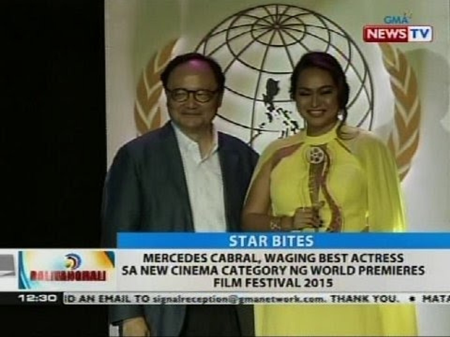 Mercedes Cabral, waging best actress sa new cinema category ng World Premieres Film Festival 2015