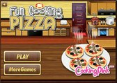 Fun Cooking Pizzas Games-Cooking Games-Girl Games