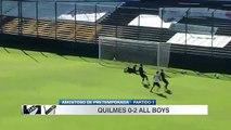 Amistoso: Quilmes 0-2 All Boys - (29.01.2017)