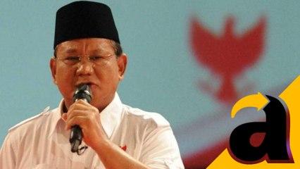 Prabowo Subianto Sapa Warga Pinang Ranti