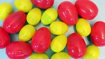 Surprise Eggs Colors Disney Cars, Inside Out, Minions, Peppa pig Toys YouTube