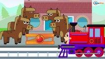 Trenes Infantiles | Dibujos Animados Educativos | Caricaturas de Trenes para niños