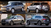 2017 Audi Q7 Vs 2016 Range Rover Sport - Design